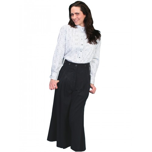 Cowgirl Horse Riding Long Trousers in Black