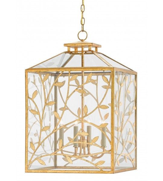 Frogmore Lantern by Currey and Company