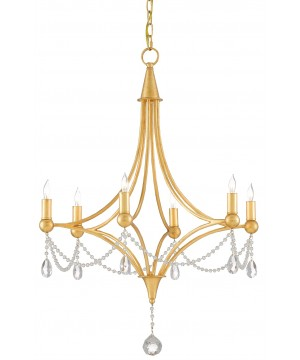 Etiquette Chandelier by Currey and Company