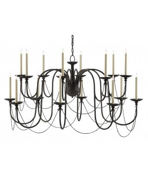 Digby Chandelier by Currey and Company