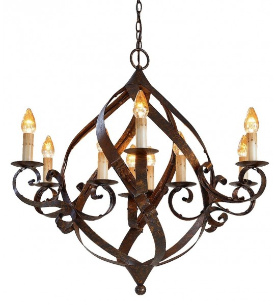 Gramercy Chandelier by Currey and Company