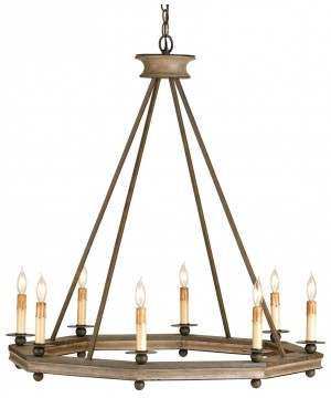 Conversation Chandelier by Currey and Company
