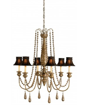 Eminence Chandelier by Currey and Company
