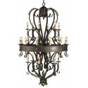 Colossus Chandelier by Currey and Company