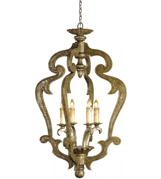 Chancellor Chandelier by Currey and Company