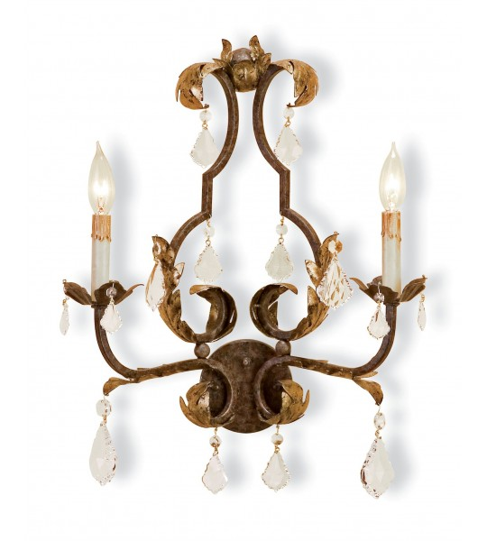 Tuscan Wall Sconce by Currey and Company