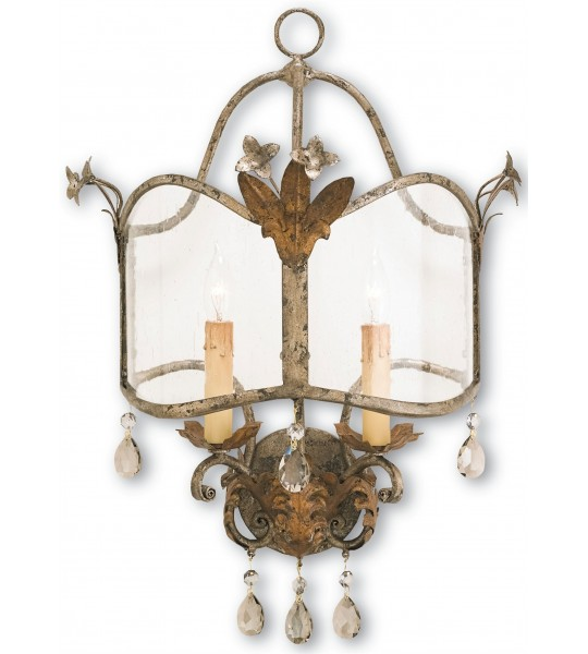 Zara Wall Sconce by Currey and Company