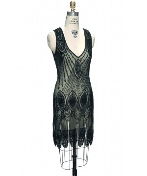 Great Gatsby Cocktail Midi Dress in Bottle Green by The Deco Haus
