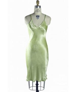 1930s Vintage Style Slip in Nile Green by The Deco Haus
