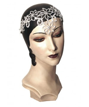 The Deco Goddess Diamante Headband by The Deco Haus