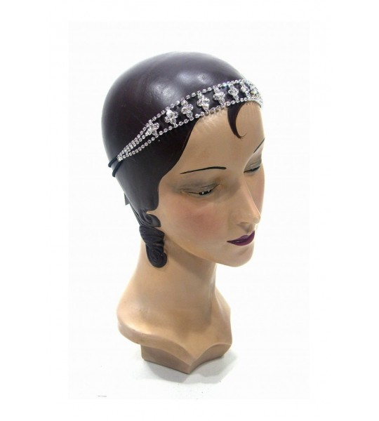 "1920s Style ""The Regency"" Diamante Headband by The Deco Haus"