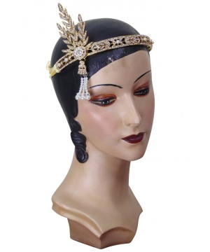 "The Great Gatsby Style ""Daisy"" Tiara in Gold by The Deco Haus"