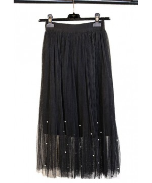 Roaring 20s Midi Skirt in Black The Deco Haus