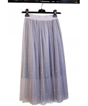 Roaring 20s Midi Skirt in Silver by The Deco Haus