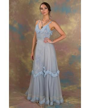 Angel Wedding Dress in Blue by Nataya