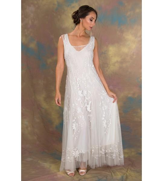 Enchanting Ivy Dress in Ivory by Nataya