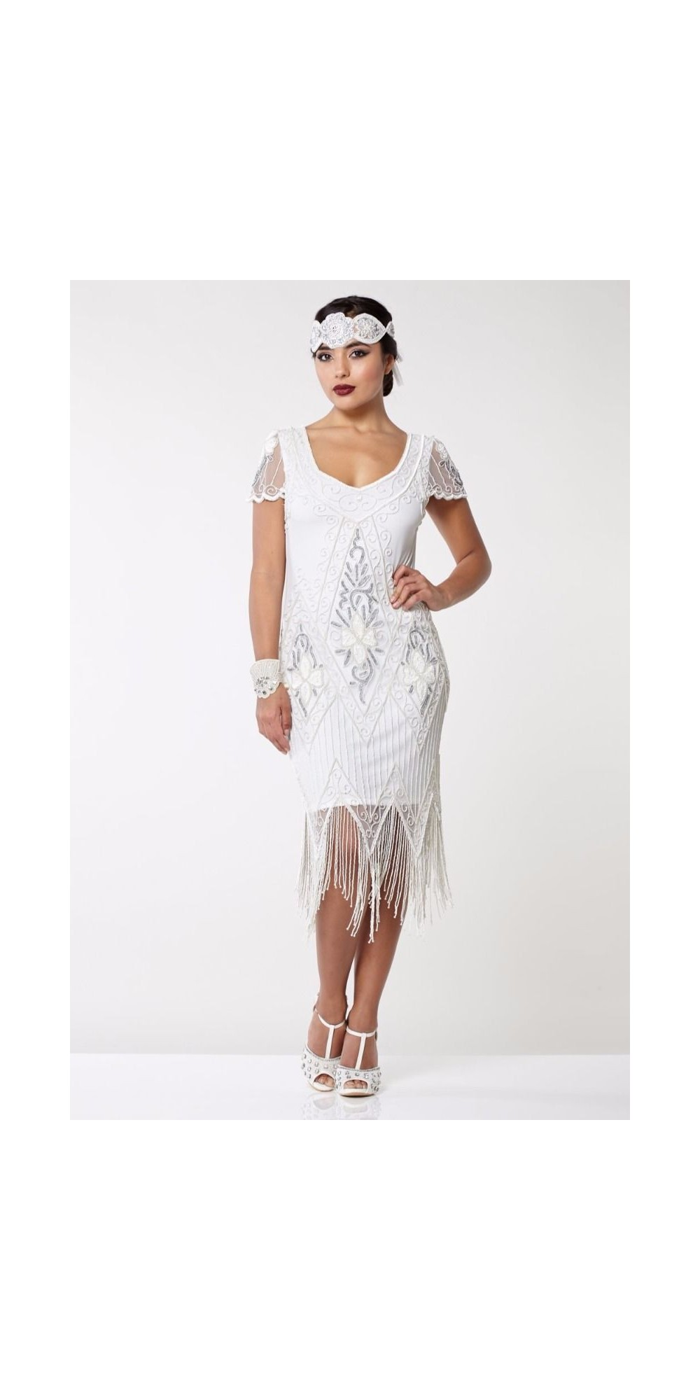 Flapper Style Cocktail Dress