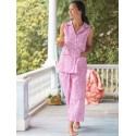 Romantic Floral Pajama in Pink