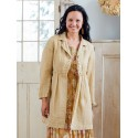 Vintage Inspired Jacket in Tan | April Cornell - SALE