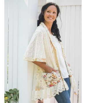 Victorian Inspired Lace Cover-Up by April Cornell
