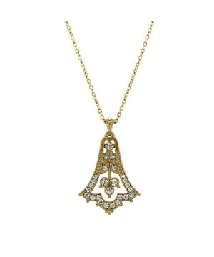 Downton Abbey Bell Pendant Necklace by 1928 Jewelry