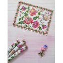Pecan Pie Cotton Placemat in Ecru | April Cornell - SOLD OUT