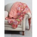 Primrose Throw in Coral | April Cornell - SOLD OUT