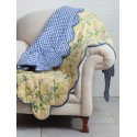 Cornflower Throw in Yellow | April Cornell