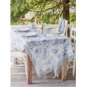 Ladylike Tablecloth in Soft Blue | April Cornell