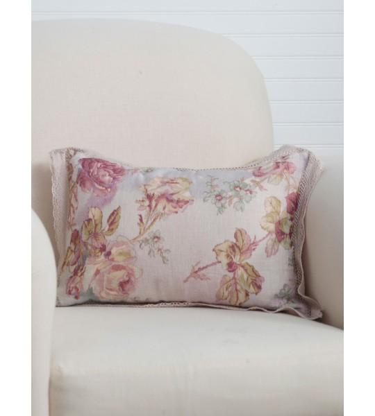 Secret Garden Cushion in Amethyst by April Cornell