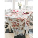 Biscotti Tablecloth in Blue | April Cornell - SOLD OUT