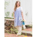 Blueberry Pie Apron in Blue | April Cornell - SOLD OUT