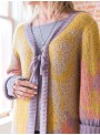 Nanette Cardigan in Gold Coral by April Cornell