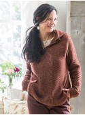 Cashel Pullover in Brown | April Cornell - SOLD OUT
